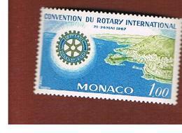 MONACO   -  SG 887  -  1967 ROTARY INT.            - MINT** - Nuovi
