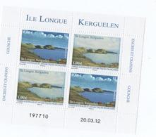 K22 TAAF Bloc Ile Longue ** 2012 - Blocs-feuillets