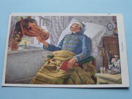FREUNDE ( W. R. B. & C° Wien - Nr. 156 ) Heinrich Schubert Pinx.- Anno 19?? ( Zie Foto Voor Details ) ! - Militari