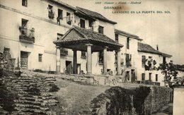 GRANADA LAVADERO EN LA PUERTA DEL SOL - Granada
