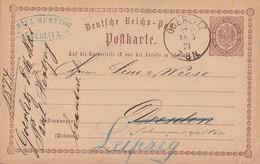 DR Ganzsache K1 Görlitz St. P. 16.5.74 - Briefe U. Dokumente