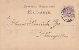 DR Ganzsache K2 Langenbielau 15.6.78 Gel. Nach Kempten - Deutschland