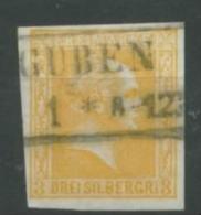 Preußen Nr. 12 Gestempelt Guben 18 Euro Michel - Preussen
