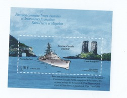 K22 TAAF Bloc Escorteur Navire 2011 ** - Blocs-feuillets