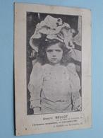 Annette BELLOT ( Lâchement Assassinée 1907 ) Soignies Anno 1907 > Lens ( Zie Foto Voor Details ) ! - Cartes Postales