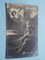 SCHUTZENGEL - Vater, Du Segne Mich ( S & G - 575/6 ) Feldpost Anno 1917 ( Zie Foto Voor Details ) ! - Militari
