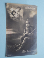 SCHUTZENGEL - Vater, Du Segne Mich ( S & G - 575/6 ) Feldpost Anno 1917 ( Zie Foto Voor Details ) ! - Militaria