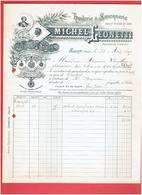 FACTURE 1899 HUILERIE SAVONNERIE MICHEL LEONETTI A SALON PROVENCE - Francia
