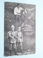 Die Vöglein = Im Walde, Die Sangen So Wunderschön ! ( 3014/V1 L & P ) Allenstein > Anno 1917 ( Zie Foto Voor Details ) ! - Militaria
