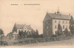 ZZ795 - CANTONS DE L' EST - Carte-Vue RAEREN - Marien Hospital - Raeren