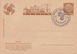 DR Privat-Ganzsache Minr. PP122 C113 SST Berlin-Schöneberg 27.10.40 - Briefe U. Dokumente