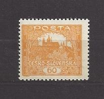 Czechoslovakia Tschechoslowakei 1919 MNH ** Mi 20 Sc 32 Hradcany At Prague. Gezähnt,  Perforated - Tschechoslowakei/CSSR