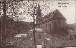 Le Mesnil Saint Denis Le Monastere Cour Et Parloir Circulee En 1945 - Le Mesnil Saint Denis