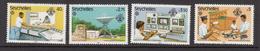 1983 Seychelles Communications Year Post Radio Television  Complete Set Of 4 MNH - Seychellen (1976-...)