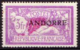 Andorre Français N° 20 Neuf * - Nuevos