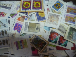 450gKiloware LuxemburgerBriefmarken Auf Einlagigen Papier Mit Vielen Sonder- Und Zuschlagsmarken Aus Vielen Jahrgängen - Briefmarken