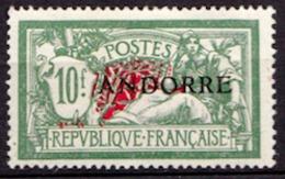 Andorre Français N° 22 Neuf * - Nuevos