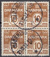 DANMARK - 1930 - Quartina Usata: Yvert 195, Come Da Immagine. - Usati