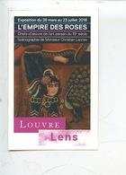 Ticket : Art Persan 19è Siècle L'empire Des Roses(scénographie Christian Lacroix) Musée Louvre Lens - Toegangskaarten