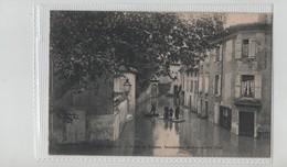 Tain Route De Romans Inondations 1896 Barques Rare - France