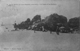 Saint Marc : La Plage Et Les Rochers - France