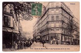 1981 - Paris ( XIXe & XXe ) - Rue De Bellevillez Et Des Pyrénées - N)152 - - Paris (20)