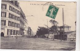 62  BOULOGNE SUR MER  -  Boulevard Daunou  Restaurant Pont De L'écluse -   CPA   N/B  9x14 BE - Boulogne Sur Mer