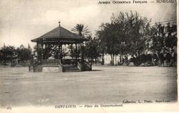 SENEGAL - SAINT LOUIS - PLACE DU GOUVERNEMENT - Senegal