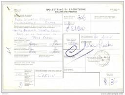 Bulletin D'Expédition - Italie - Cachets PADOVA - 1981 - Timbres-Poste ITALIA - 1946-.. République