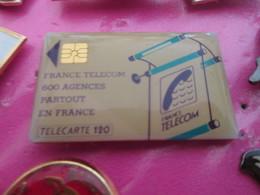 1215c Pin's Pins : Rare Et Belle Qualité  FRANCE TELECOM / TELECARTE 120 - France Telecom