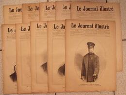 Lot De 9 Numéros De La Revue Le Journal Illustré De 1889.  Alexandre 1er De Serbie. Actualités De L'époque - Magazines - Before 1900
