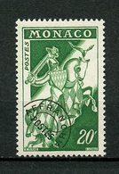 MONACO  1954 Préoblitérés  N° 13B ** Neuf MNH Superbe  C 2 € Chevalier En Armure Chevaux Horses Animaux - Monaco