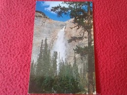 ANTIGUA POSTAL POST CARD CARTE POSTALE DE CANADÁ TAKAKKAW FALLS YOHO VALLEY NATIONAL PARK THE CANADIAN ROCKIES VER FOTO - Canadá