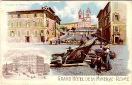 Italie > Lazio > Roma (Rome) > Cafés, Hôtels & Restaurants / GRAND HOTEL DE LA MINERVE    / LOT 269 - Bars, Hotels & Restaurants