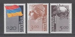 SERIE NEUVE D'ARMENIE - SERIE COURANTE : SYMBOLES ET EMBLEMES N° Y&T 183 A 185 - Arménie