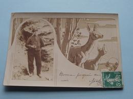 Soldaat / Soldier / Soldat Milicien () Anno 1915 > Pont Esprit Gand ( PK / CP - Foto ? ) - Guerre, Militaire