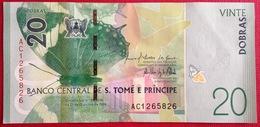 # SAO TOMÉ ET PRINCIPE 20 Dobras 21/10/2016 (2018) UNC - Sao Tomé Et Principe