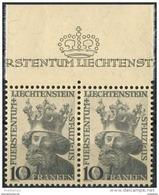 Liechtenstein 1946. Michel #247 MNH/Luxe. St. Luzius, Patron Of The Country. (B13) - Liechtenstein