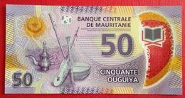 # MAURITANIE 50 Ouguiya 28/11/2017 UNC Polymer - Mauritania