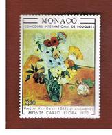 MONACO   -  SG 984  -  1970  FLOWERS SHOW      - MINT** - Monaco