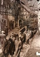Allemagne Château De La Wartbourg Visite De Poetes Etrangers WWII Ancienne Photo De Presse 1942 - War, Military
