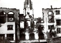 Suisse Bombardement Americain De Schaffhausen WWII Ancienne Photo De Presse 1944 - War, Military