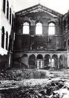 Allemagne Treves Trier Eglise En Ruines WWII Ancienne Photo De Presse 1944 - War, Military
