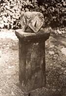 Allemagne Bad Meinberg Cadran Solaire Du 18e Siecle Ancienne Photo De Presse 1930's - Other