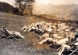 Allemagne WWII Enfants Des Zones Bombardees En Vacances Ancienne Photo De Presse 1943 - War, Military