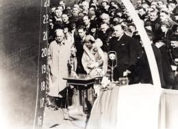 Belgique ? Bapteme D'un Navire Princesse ? Ancienne Photo De Presse 1940's - Boats