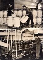 Allemagne? Bateau Navire Frigorifique? Kühlschiff Ancienne Photo De Presse 1943 - War, Military
