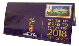 Russia,  Football 2018, Stadium Rostov-Arena, Stamp +3 D Special Pack - Wereldkampioenschap