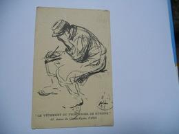THEMES DIVERS CARTE ANCIENNE  DE 1915 LE VETEMENT DU PRISONNIER DE GUERRE  EDIT CASSEGRAIN PARIS - Guerre 1914-18
