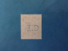 1980 ITALIA FRANCOBOLLO USATO PERFORATO STAMP USED - PERFIN CI CASTELLO ROVERETO - 6. 1946-.. Republic